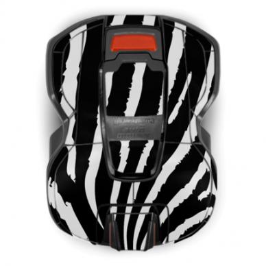 Husqvarna Automower lipdukų komplektas Zebras 2